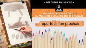Report du concours de dessin...