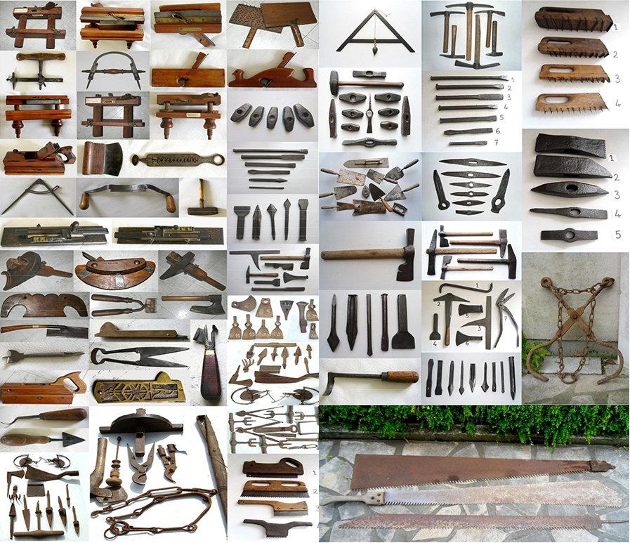Outils anciens de Jean-Paul Bousquet