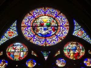 Restauration de vitraux des XVI° et XVII° siècles