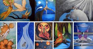 Sur les ailes du Temps : à la découverte du monde magique et féérique d'Ellere