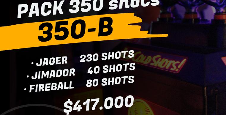 Pack 350 shots B