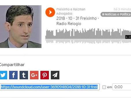 Professor da UFF, Daniel Raizman fala em rádio sobre crime organizado