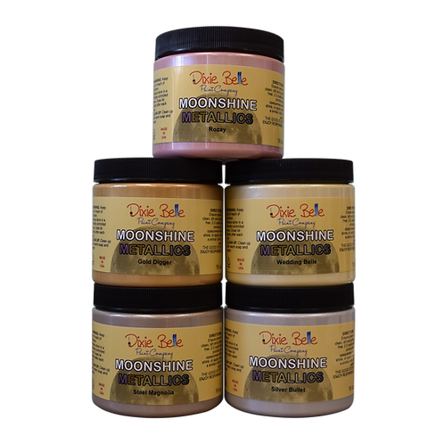 Moonshine Metallic chalk mineral paint