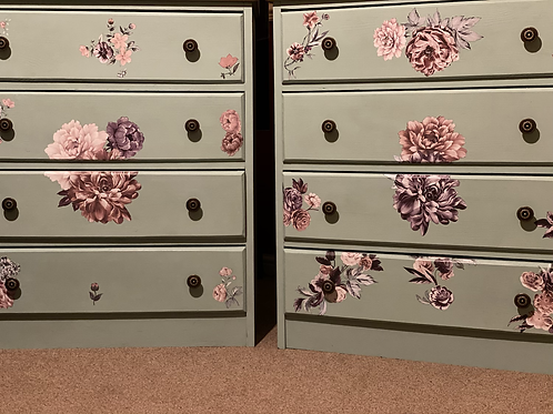 Upcycled chest of drawers