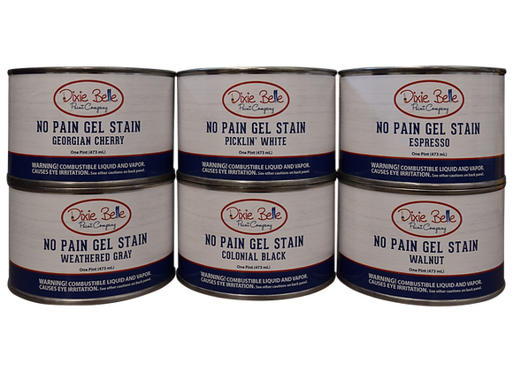 No Pain Gel Stain (Oil-Based) - 16oz