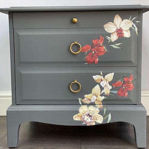 Stag Minstrel Bedside Cabinet
