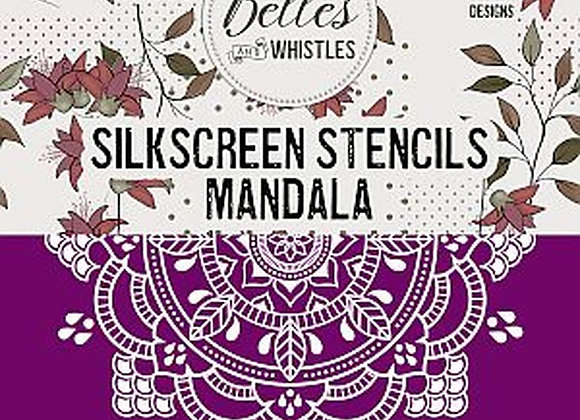 Mandala- Silkscreen Stencil
