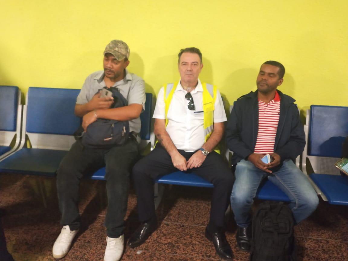 Ejercicios practicos en el aeropuerto La