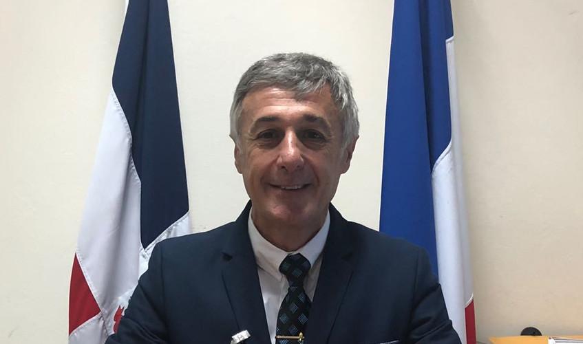 Teniente Coronel Pierre FERNANDEZ, Director del CIFAD