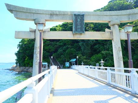 愛知県蒲郡市(がまごおり)の三河湾に浮かぶ「竹島」で自然パワーをチャージ