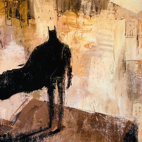 """Batman!""  Lee White Signed Print"