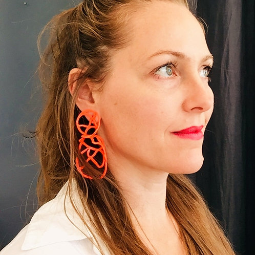 Laura Wood Studio Double Lace Earring