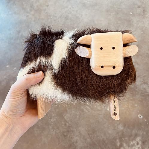 Clavelli Fuzzy Cow sculpture