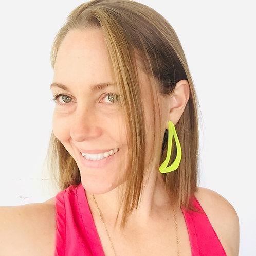 Laura Wood Studio Linear Drop Earring