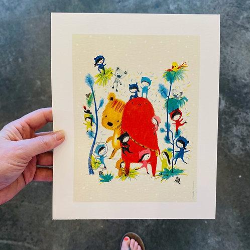 Natalia Colombo print