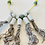 Thumbnail: Cecilia Borghi Ceramic and Linen Necklace