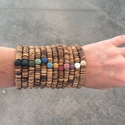 Stacking Diffuser Bracelets Mixed