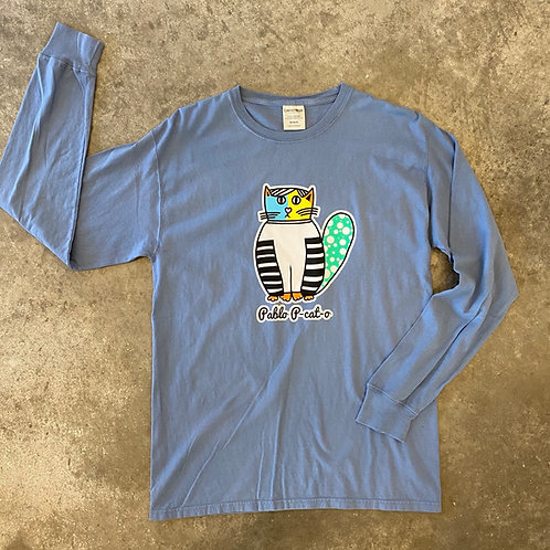 Pablo P-Cat-O Long Sleeve T shirt