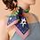 """Thumbnail: Julie White Bush Jamboree 25"""" x 25"""" silk/cotton scarf"""