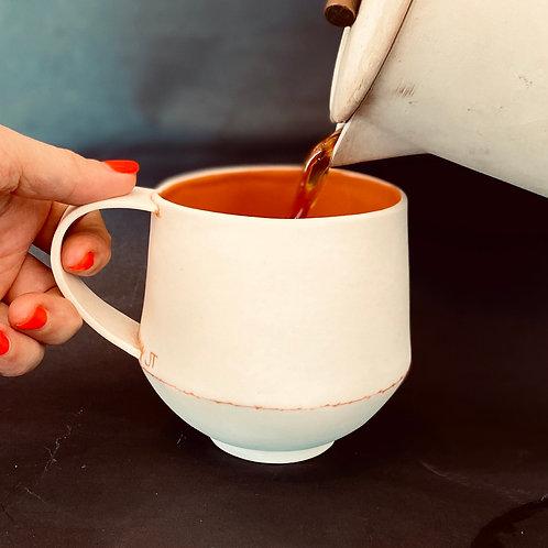 Jessica Thorn Orange Mugs