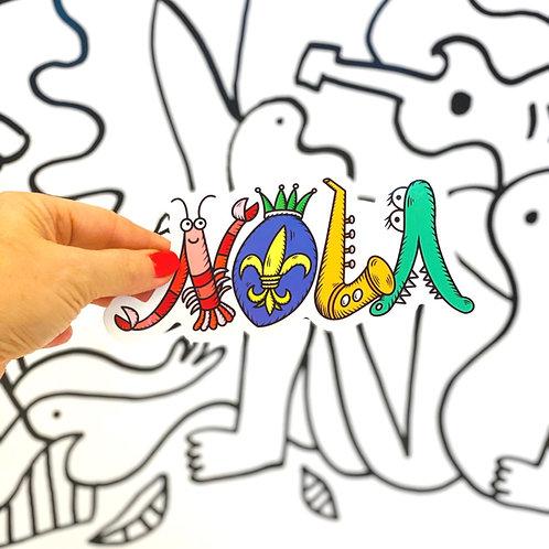 NOLA Sticker
