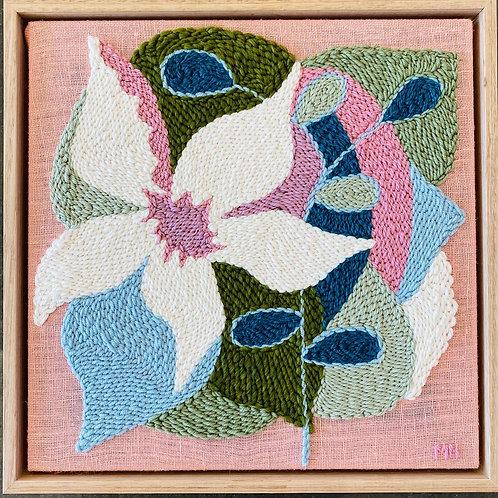 Adaro Floral #1 Monica Henry Fiber Art