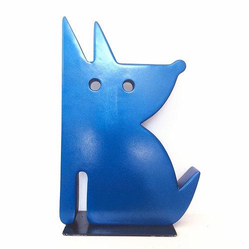 Blue Puppy by Jeffie Brewer