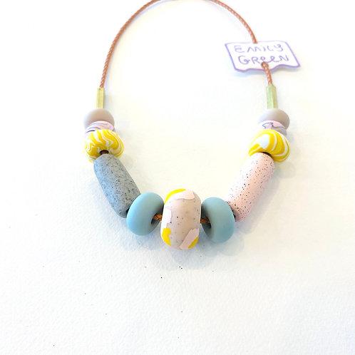 Emily Green Smokebush Necklace