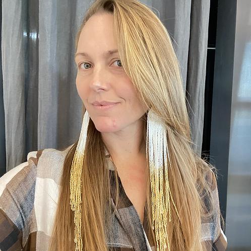 """Betty Conant 12"""" Chandelier Earrings"""