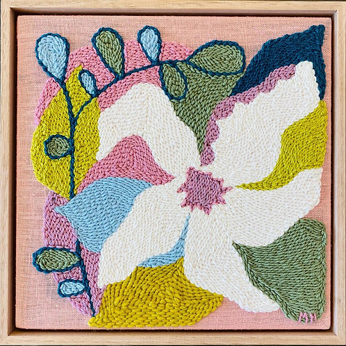 Adaro Floral #2 Monica Henry Fiber Art