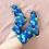 Thumbnail: Julie White Kangaroo Blue socks