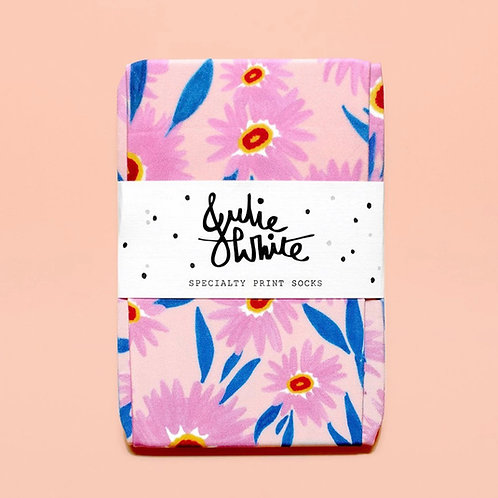 Paper Daisy socks by Julie white