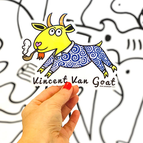 Vincent Van Goat Sticker