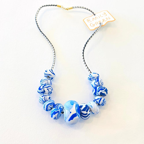 Emily Green China Blue Necklace