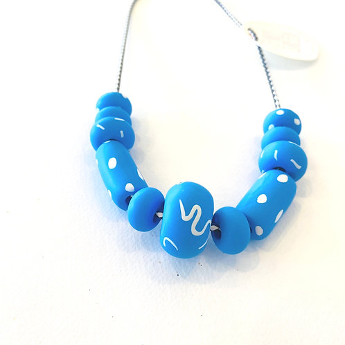 Emily Green valentina Cornflower Necklace