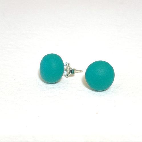 Emily Green stud Earrings Jade