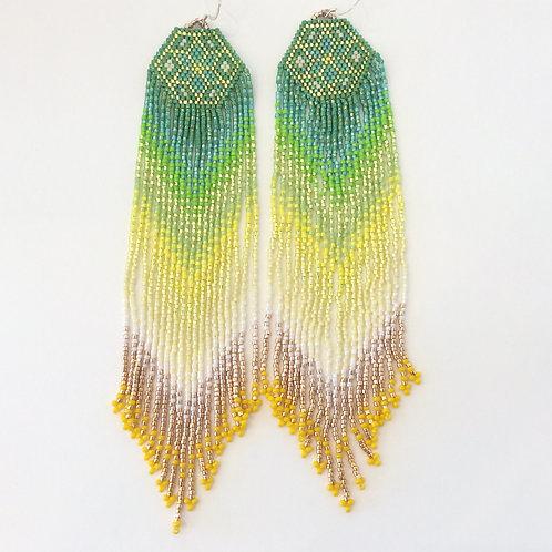 """Betty Conant 7"""" Chandelier Earrings"""