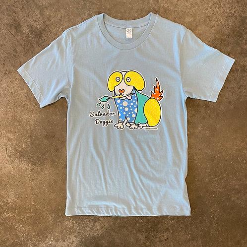 Salvador Doggie T-Shirt Light Blue