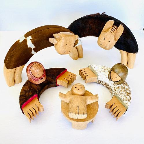 Clavelli nativity set