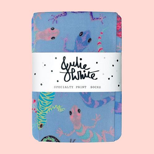 Julie White Reptilia socks