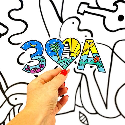 30A Sticker