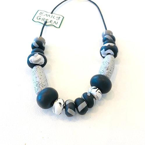 Emily Green Noir Tape Necklace