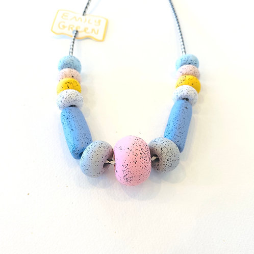 Emily Green Chalk Necklace