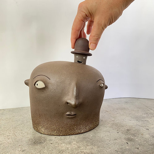 Luciano Polverigiani 2 Piece Sculpture