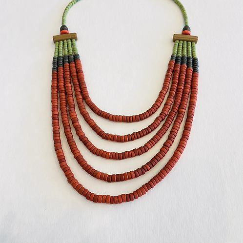 Facundo Oreggia Clay Necklaces