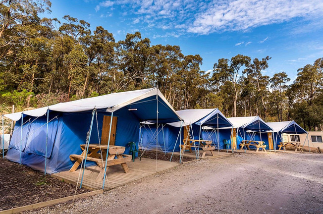 The Summit  Tent Village