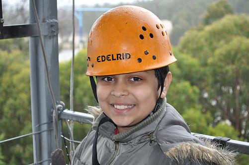Kid having fun at The Summit