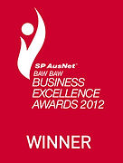 Baw Baw Business Award 2012 Winner logo.