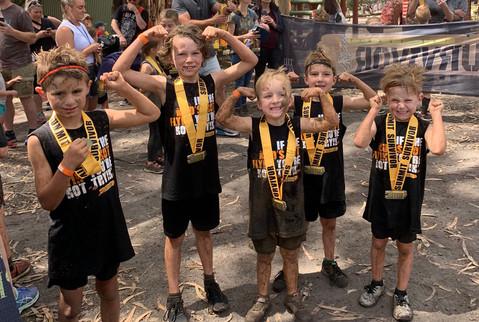 Kids Course Summit Survivor