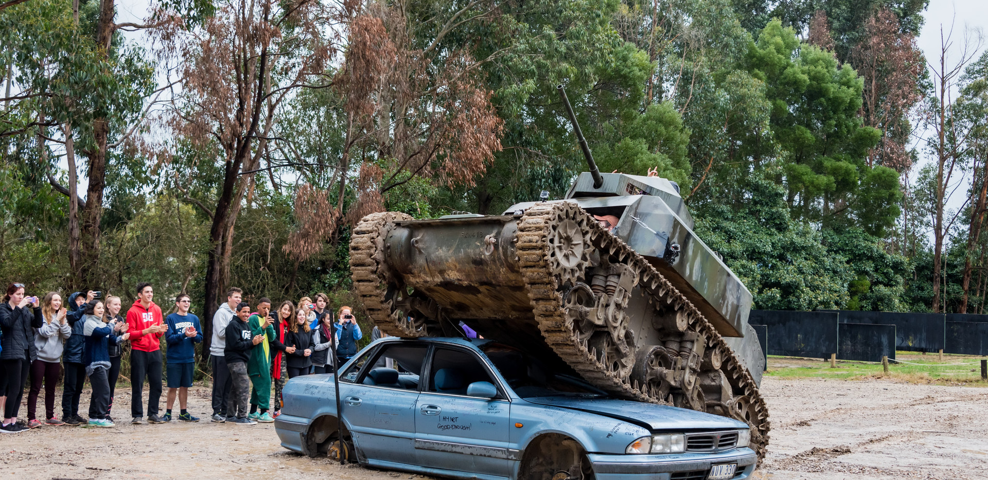 Tank Experience - Activity available for booking